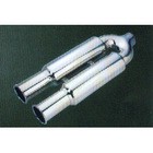 combination stainless steel mufflers with tips
