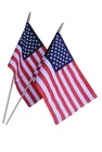 hand flag with poles - flag dowels