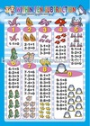 kids learning wall chart