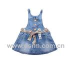 Denim fashion child wear for 2012 (KS120028)