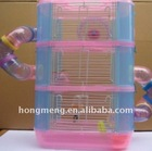 Three Storeys Plastic Pet Portable Cage,Pet Carrier,Pet House