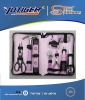 wowen tool bag with 18pcs pink tool bag