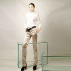 2012 the latest low waist lady trousers