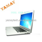 14inch intel win7 portable azerty keyboard laptop computer