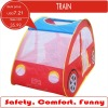 Funny children car tent, pop up play tent of red car