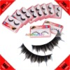 Cheap! 10 Pairs Multi-colors Synthetic Fiber False Eyelashes Taiwan
