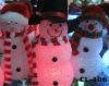 led lighted plastic snowman X-MAS snowman outdoor Decoration