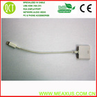 Sell usb cable for iphone5,white cable for iphone5(cable knit sweater girls)