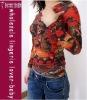 Fashion Kirin Printed LongSleeves Tattoo Shirt