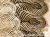100% nylon eyelash lace fabric