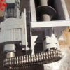 Plastic Industry Rubber Particles Horizontal Screw Spiral Conveyors