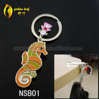 newest foldable nail-scissor design hold 9 kg keychain key chain holder for purse NSB01