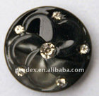 2 holes printed plastic resin garment buttons