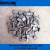 Granite cutting diamond segments