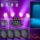 RGBA Flat LED 4 par QC-LP010