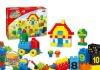 DIY Plastic Education Blocks toys for children