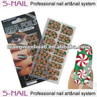 2013Hot Christmas nail stickers, new Christmas nail foils,Christams nail art