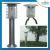 Outdoor energy saving 0.3 Watts UV solar powered garden lamp mosquito killer light