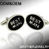 stainless steel cufflink back