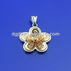 stainless steel new design gold pendant