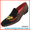 Hot ordering casual men's velvet slippers factory made in China