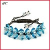 Free shipping New design with crystal MT120702083 elastic bracelet
