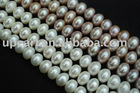 11-12 mm big size freshwater pearl strands