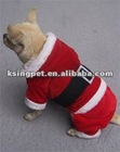 Christmas pet coat with legs