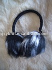 women fashion fake fur ear muffs