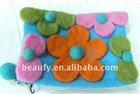 exquisite felt bag