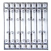 Antique Window Grille, Decorative Wrought Iron Grill
