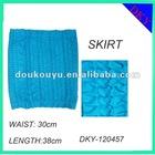 lady's sexy seamless jacquard autumn wearshort skirt