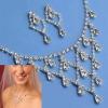 RHINESTONE JEWELRY Sets,RHINESTONE necklace