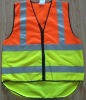 Roadway safety vest JYA-1013B,according to EN471 class2