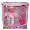 "Crying baby dolls 16"" B/O fashion baby doll funny vinyl baby dolls reborn dolls"