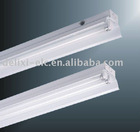 T8 fluorescent lighting fixture with cover