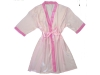 Customized Satin Picot Ladies Bathrobe