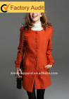 NEW fashion bright color wool coat for lady