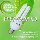 PROMO! T3 3U 15W ENERGY SAVING LAMP