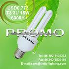 PROMO! T3 3U 15W ENERGY SAVING LAMP