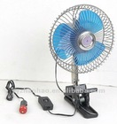 Oscillating Car Fan
