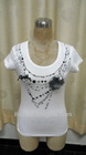 Fashion Printed Clothing with Chain for Women