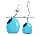 Blue Cute Wireless Proximity wallet anti-lost alarm Keychain Set with String & Snap Hook BALA-A1