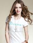 2012 newest design fashion ladies t-shirt