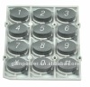 plastic mold for electrical push button