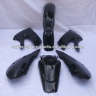 china dirt bike parts black color KLX 110 plastics