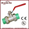 B1106 Plated Brass Valves With High Quality PPR Brass Valve