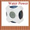 Green Water Power Electronic Digital Calender Alarm Clock 698W