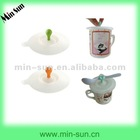 2012 The new design and eco-friendly silicone coffee cup covers