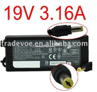 19V,3.16A, 5.5*2.1mm Laptop Adapter